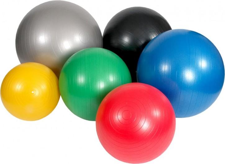 Mambo Max Gymnastikball 75 cm - Farbe silber -NEUWARE