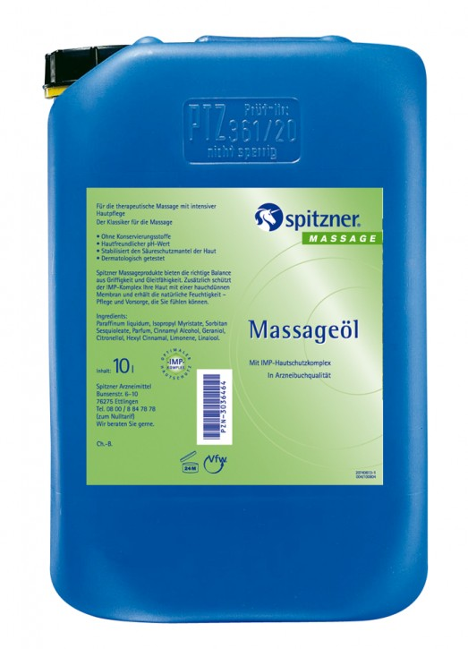 Massageöl 10 L