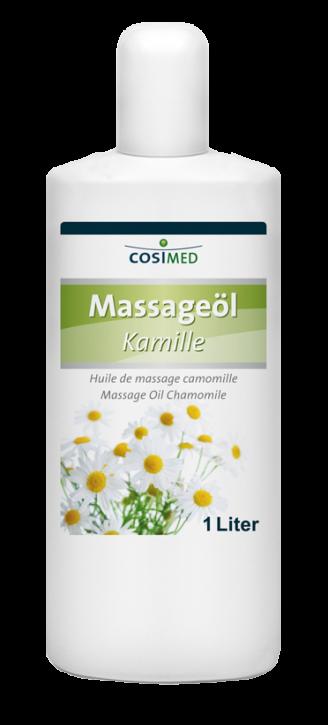 Massageöl Kamille 1000 ml - Flasche