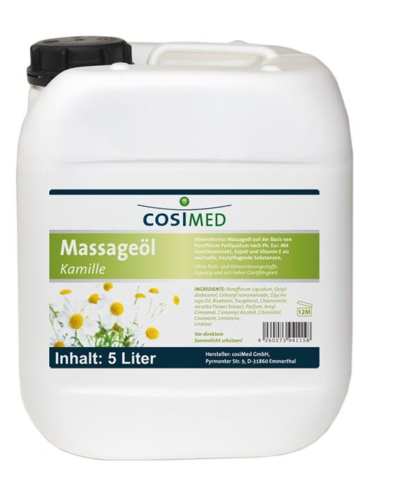 Massageöl Kamille 5 Liter - Kanister