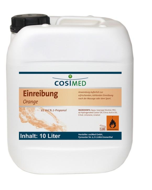 Sanfte Einreibung Orange 10 Liter 45 vol %