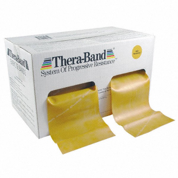 Thera-Band, gold, Großrolle 45,5 m
