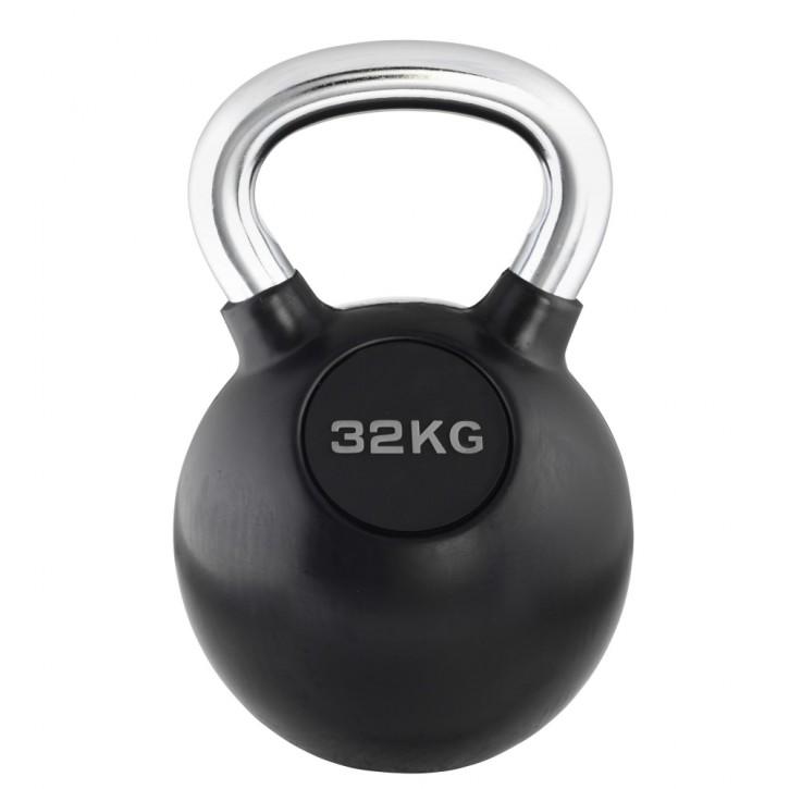Kettle Bell 32 kg - schwarz