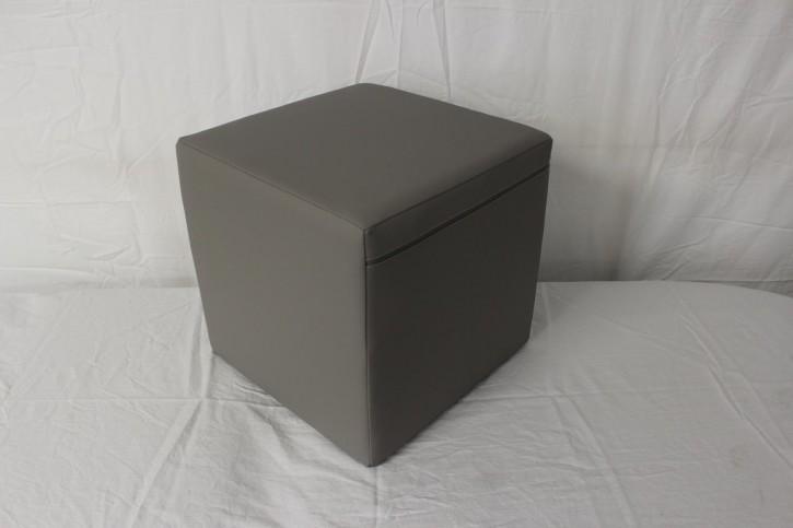 Positurwürfel - 40x40x40 cm - Tundra-chrom - B-Ware
