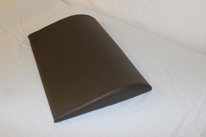Lordosekissen 40 x 28 x 6 cm - Palma-olivbraun - Neuware
