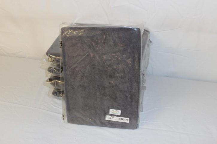 Frottee Spannbezug für Therapieliege 60-70 cm, Farbe schiefer -NEUWARE
