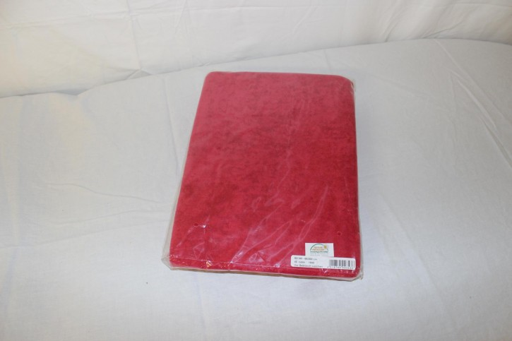 Frottee Spannbezug für Therapieliege 60-70 cm, Farbe: rubin-NEUWARE