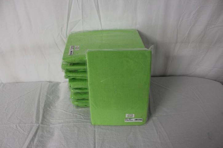 Frottee Spannbezug für Therapieliege 60-70 cm, Farbe Limone -NEUWARE
