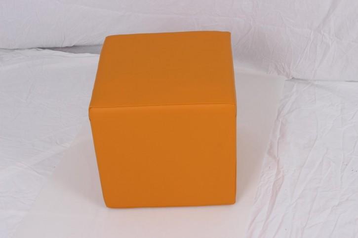 Positurwürfel 40 x 40 x 40 cm - Farbe Safran