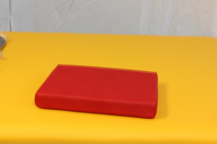 Positurkissen 40 x 30 x 5,5 cm - Farbe Palma-Feuer