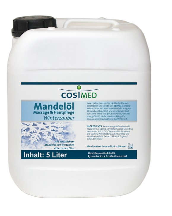 Mandelöl Winterzauber 5 Liter - Kanister