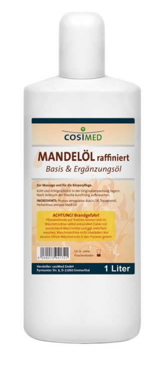 Mandelöl raffiniert 1000 ml