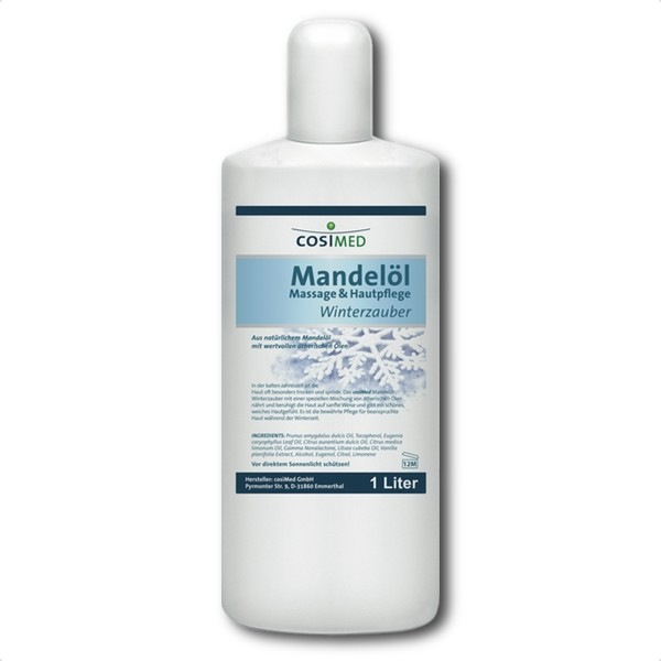Mandelöl Winterzauber 1 Liter