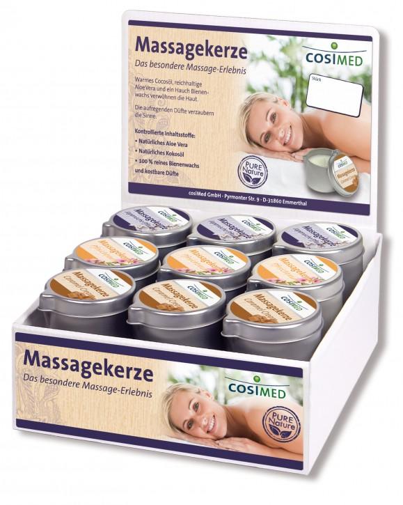 Massagekerzen Display 18 x 40 g