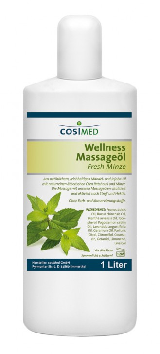 Wellness-Massageöl Fresh-Minze 1000 ml
