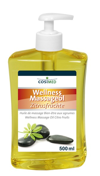Wellness-Massageöl Zitrusfrüchte 500 ml