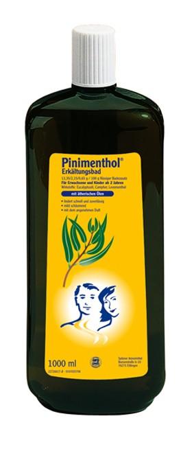 Pinimenthol-Bad