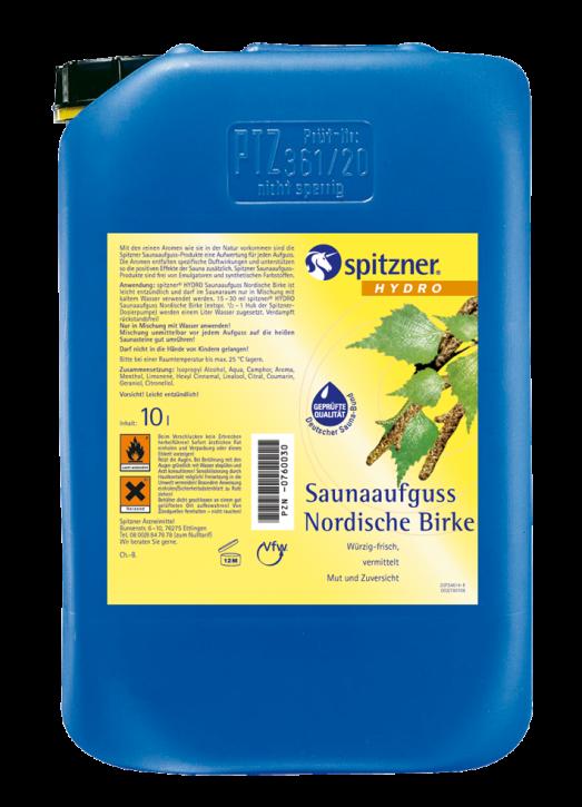 Saunaaufguss 10 Liter - verschiedene Duftrichtungen