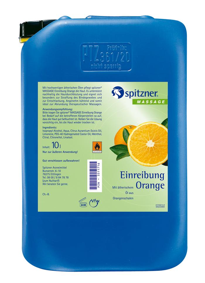 Einreibung Orange 10 l