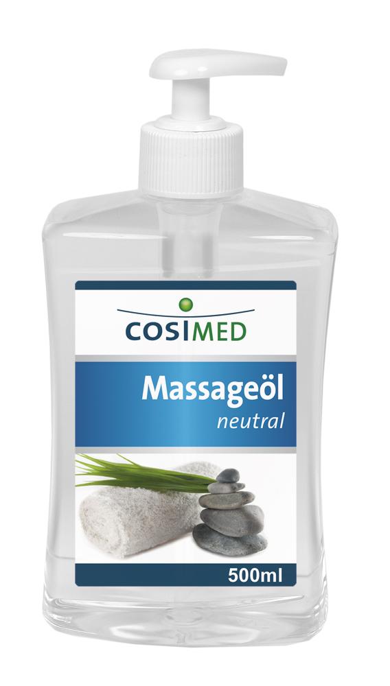 Massageöl neutral 500 ml - Dosierflasche