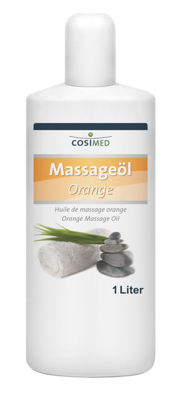 Massageöl Orange 1000 ml - Flasche