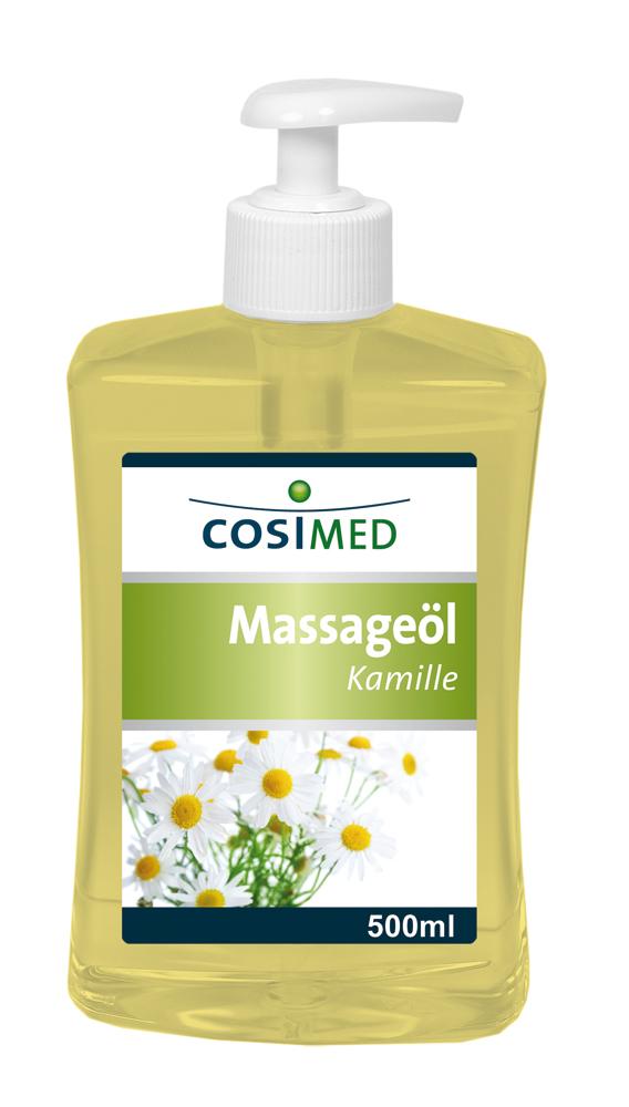 Massageöl Kamille 500 ml - Dosierflasche