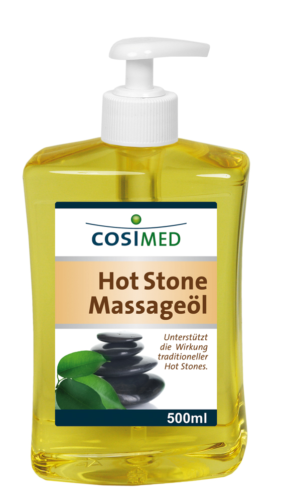 Wellness-Massageöl Hot-Stone 500 ml