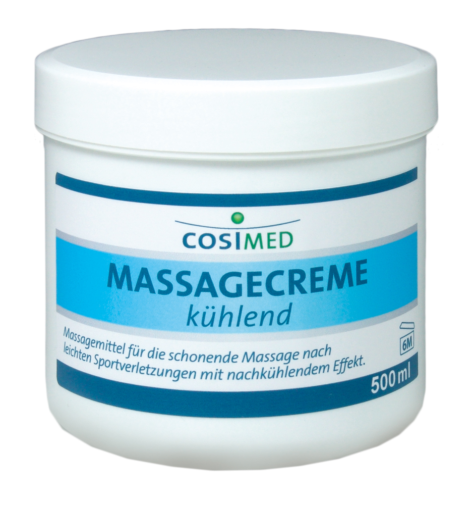Massagescreme kühlend