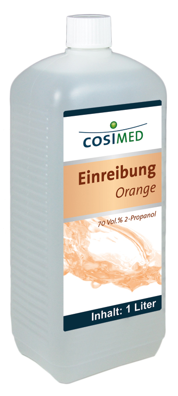 Einreibung Orange 1 Liter 70 vol %