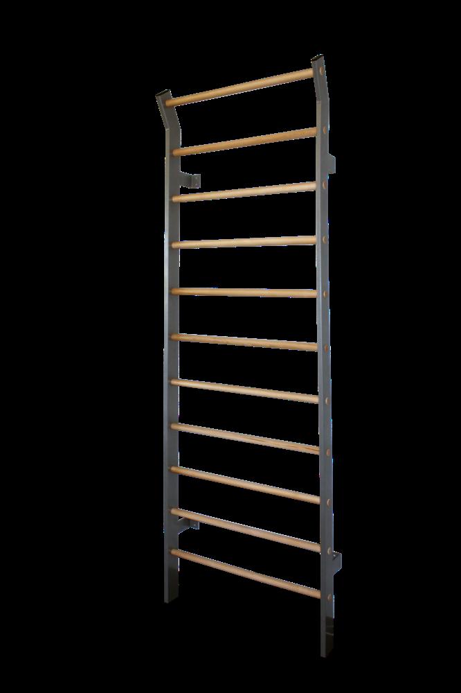 Sprossenwand Metall / Holz 230 x 80 cm