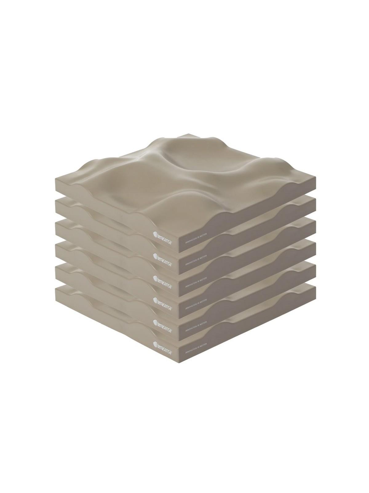 Sensa® terrasensa® Strukturbodenplatte - 6 Stück