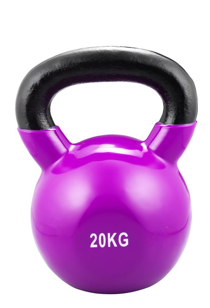 Kettle Bell 20 kg - dunkellila