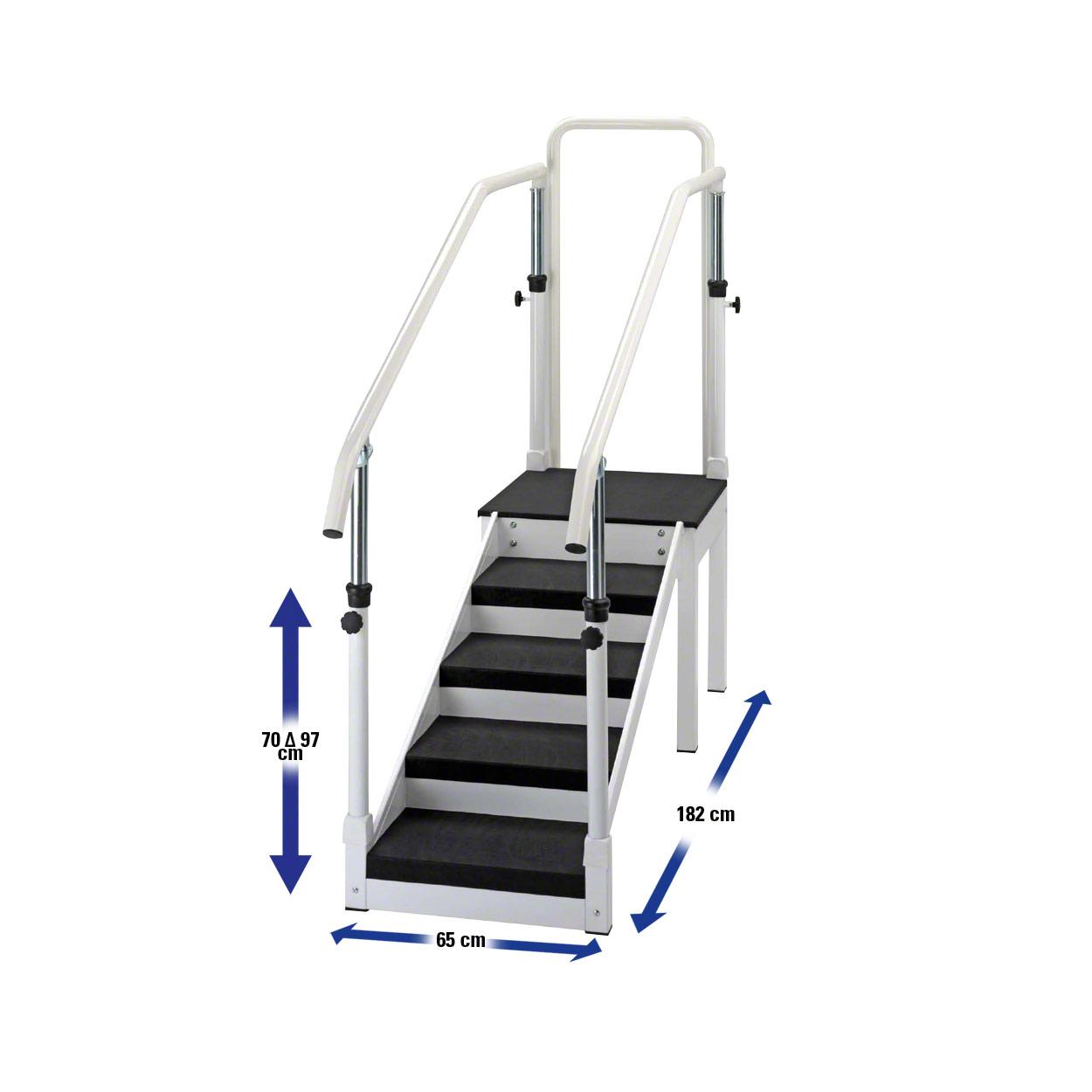 Übungstreppen- und stufen