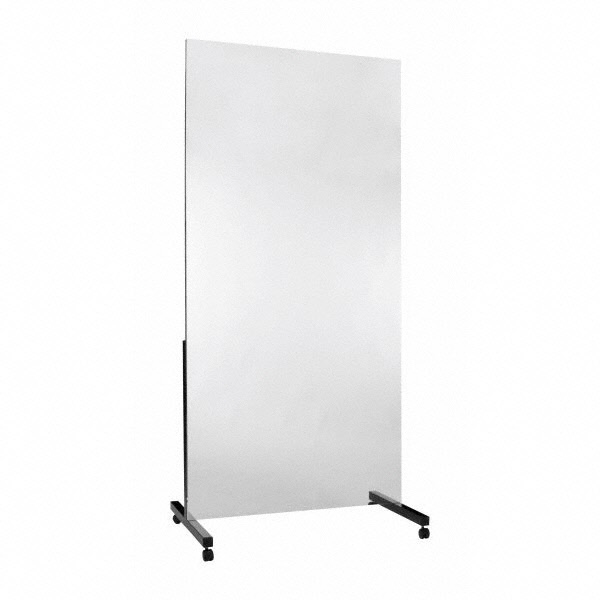 Leichtfolienspiegel fahrbar - 200 x 50 cm