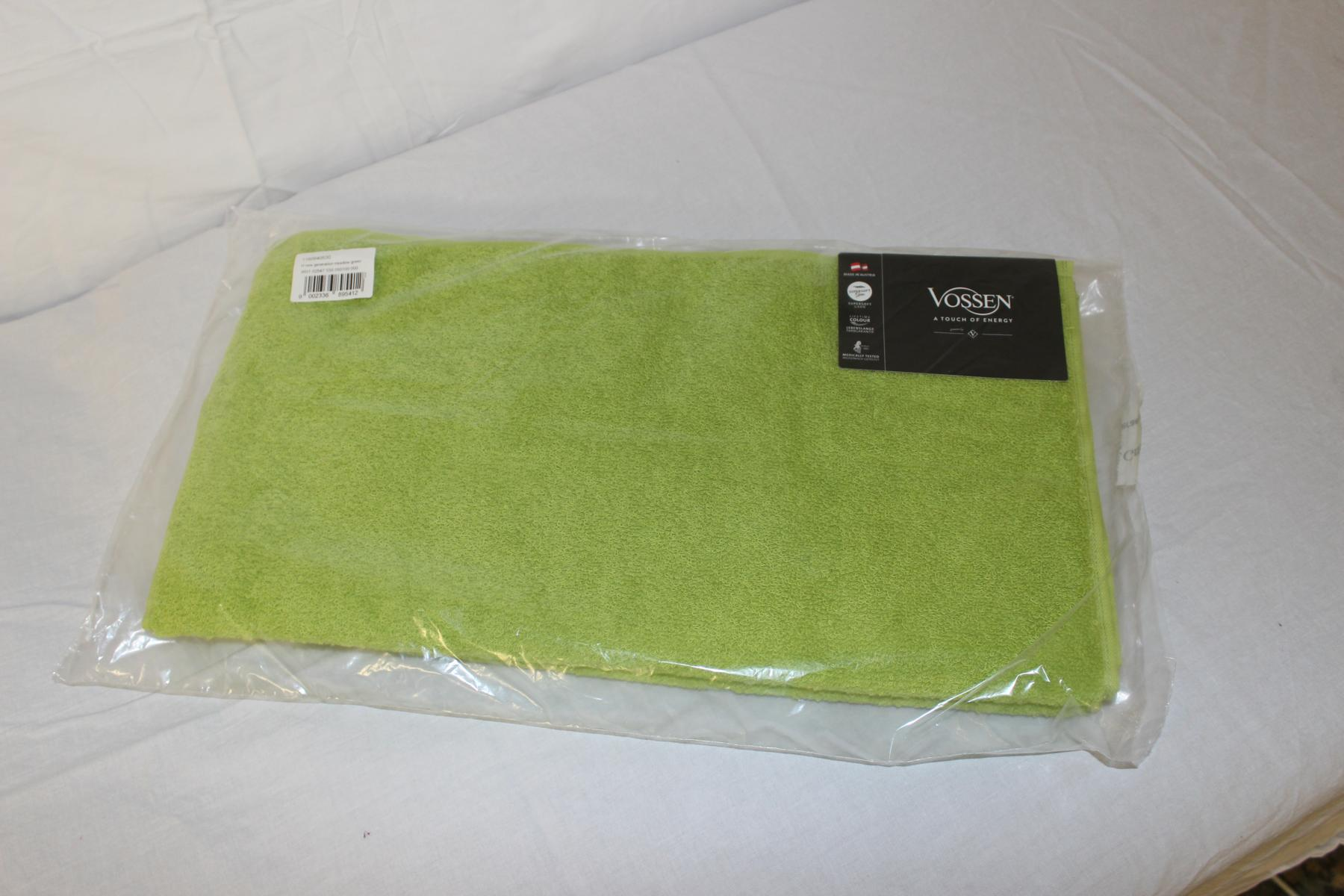 Vossen Handtuch 50 x 100 cm; Farbe: limone 2-er Pack - NEUWARE