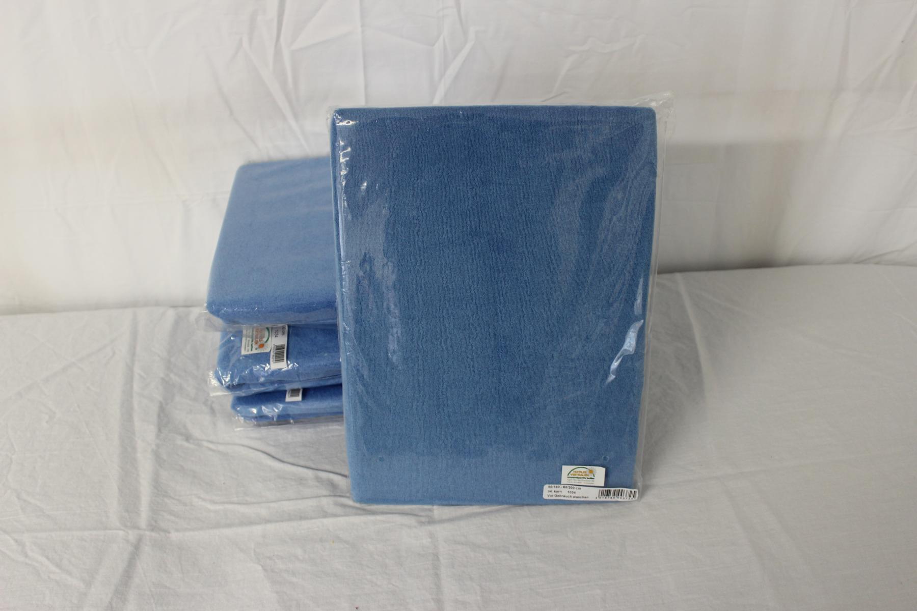 Frottee Spannbezug für Therapieliege 75-80 cm, Farbe korn -NEUWARE
