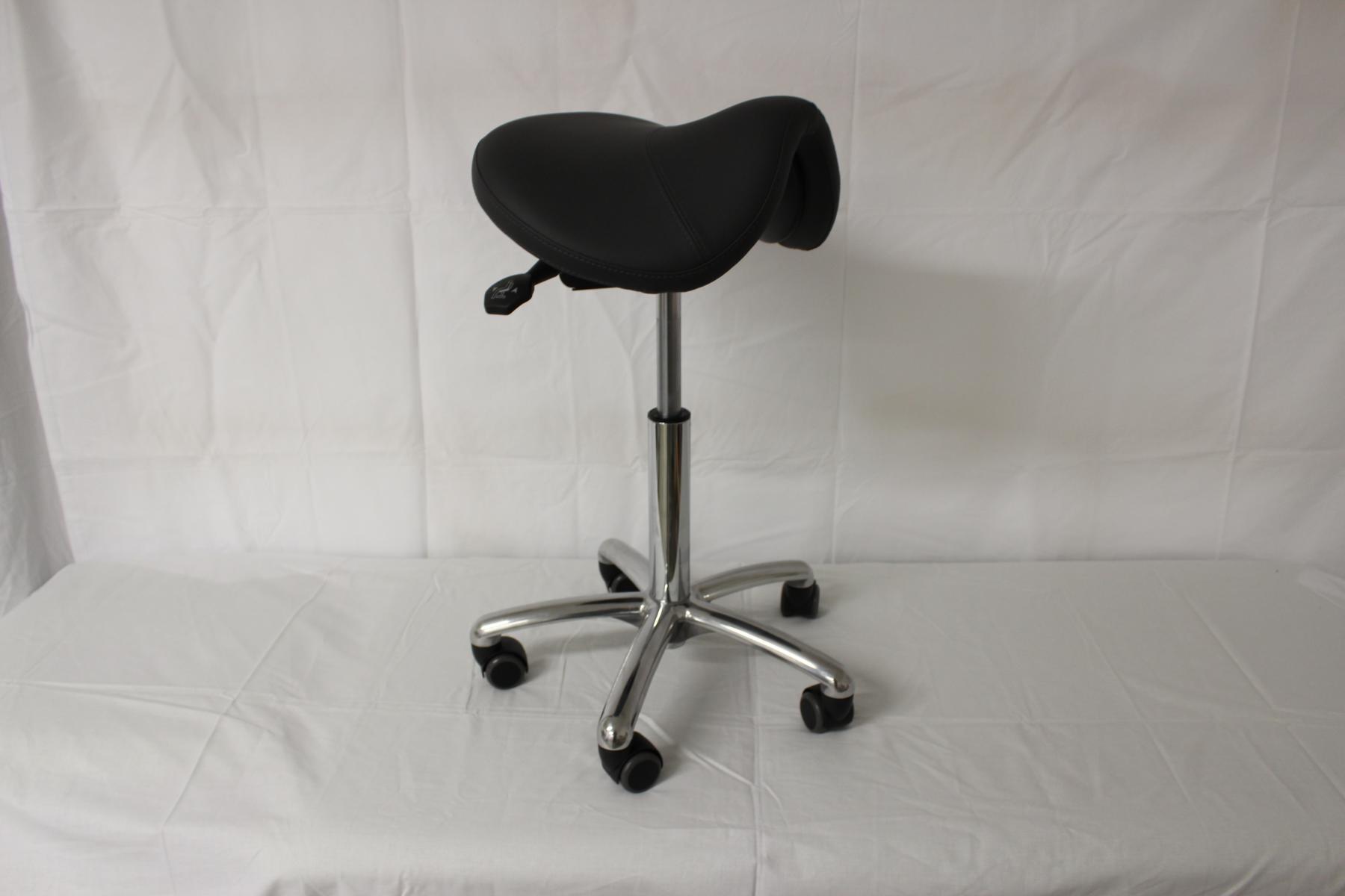 Sattelhocker Balance mit aktiv dynamischer Sitzfläche - Farbe Anthrazit - Ausstellungsstück