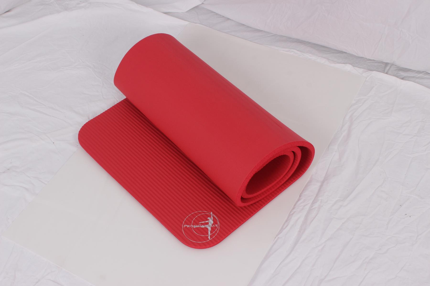 Profigymmat Gymnastikmatte 180 x 60 x 1,5 cm - Farbe rot