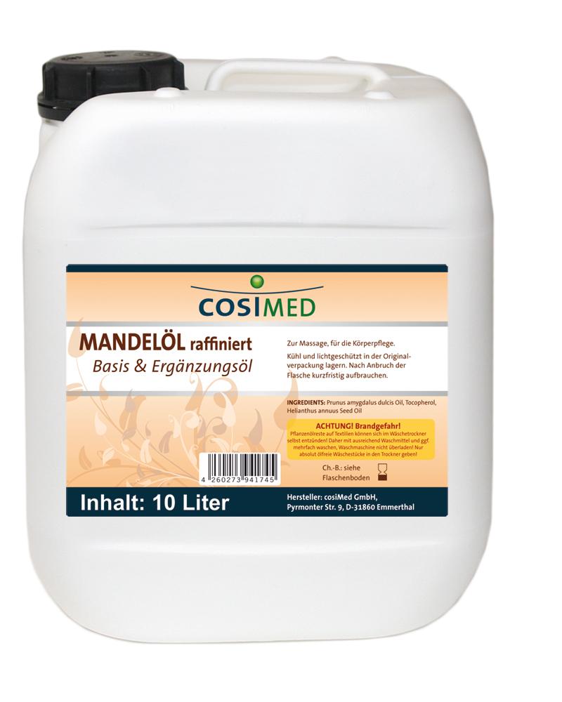 Mandelöl raffiniert 10 Liter