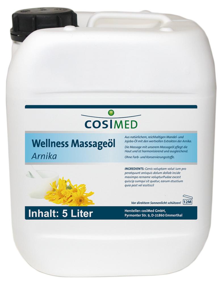 Wellness-Massageöl Arnika 5000 ml