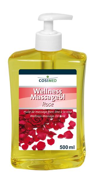 Wellness-Massageöl Rose 500 ml