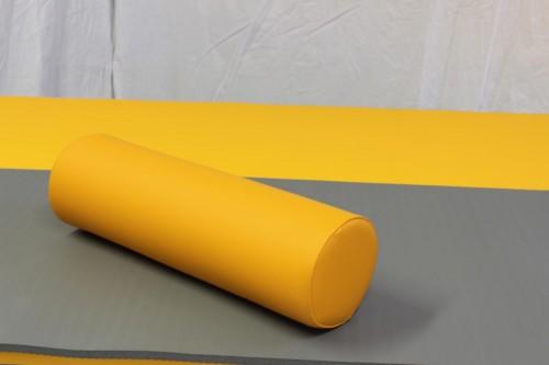 Rundrolle 50 x 15 cm - Farbe Mango