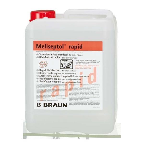 Flächendesinfektion MELISEPTOL rapid 5l