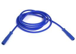 Vakuum-Elekrodenkabel blau/blau