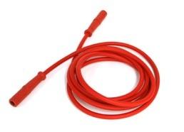 Vakuum-Elekrodenkabel rot/rot