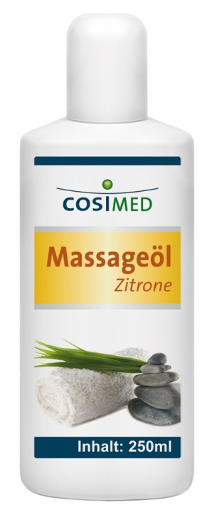 Massageöl Zitrone 250 ml