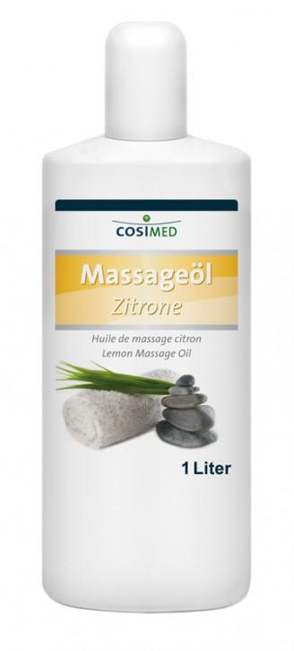 Massageöl Zitrone 1000 ml - Flasche