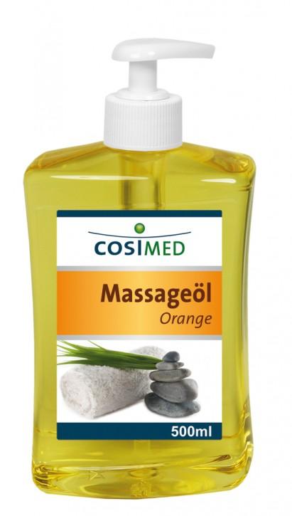 Massageöl Orange 500 ml - Dosierflasche