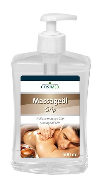 Massageöl Grip 500 ml - Dosierflasche