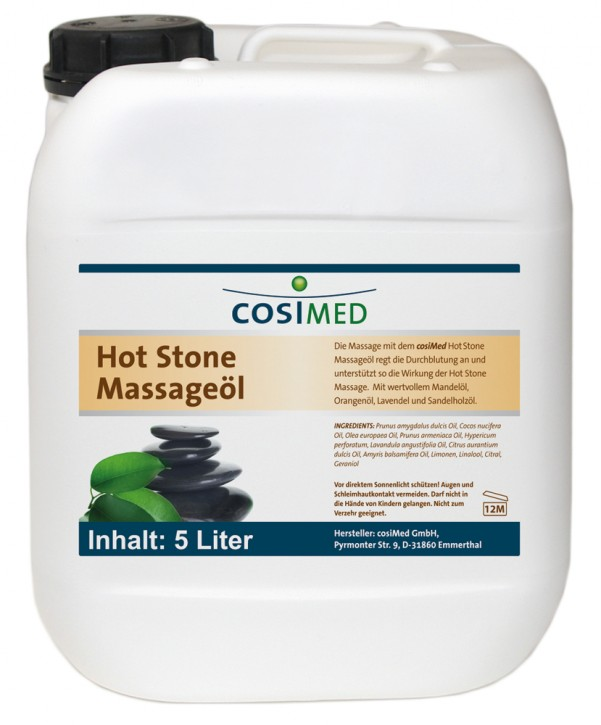 Wellness-Massageöl Hot-Stone 5000 ml